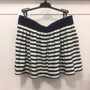 Kate Spade Georgica Beach Stripes Swim Skirt NWT